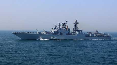 سفينة حربية روسية مضادة للغواصات