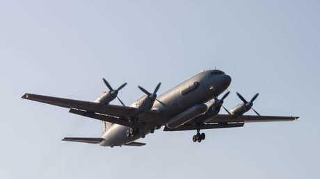 طائرة استطلاع من طراز إيل 20 من نفس طراز الطائرة المنكوبة في المتوسط