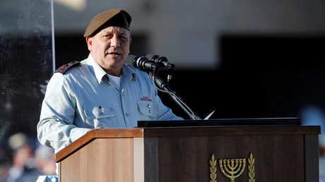 رئيس أركان الجيش الإسرائيلي غادي ايزنكوت