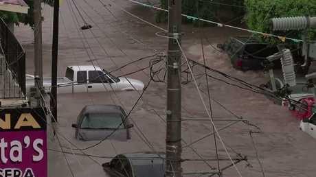 شاهد.. الفيضانات تجتاح المكسيك