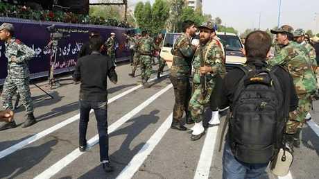 الهجوم الإرهابي الذي استهدف العرض العسكري في مدينة الأهواز الإيرانية