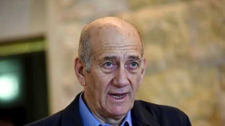 رئيس الوزراء الإسرائيلي السابق إيهود أولمرت، أرشيف