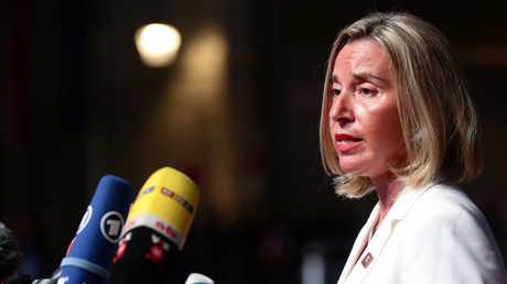 مفوضة الشؤون الخارجية للاتحاد الأوروبي، فيديريكا موغيريني