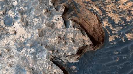 هل استقطب المريخ القديم الحياة فعلا؟
