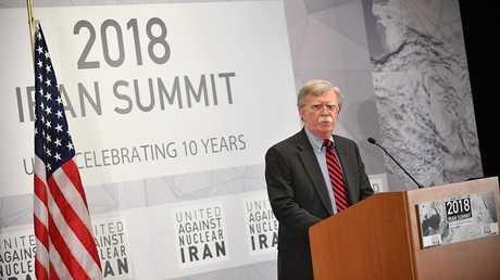 مستشار الأمن القومي للرئيس الأمريكي، جون بولتون