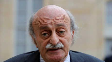 رئيس الحزب التقدمي الاشتراكي في لبنان وليد جنبلاط، أرشيف