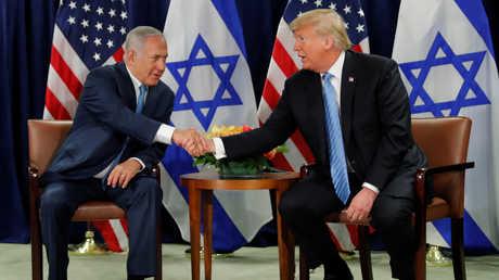 لقاء بين دونالد ترامب وبنيامين نتنياهو في نيويورك - 26/09/2018