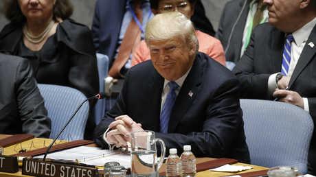 دونالد ترامب يترأس جلسة لمجلس الأمن الدولي