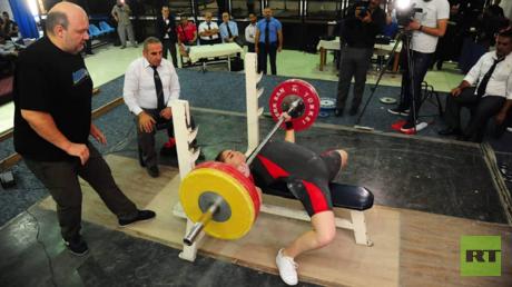 بطلة العالم الروسية ناوموفا: سعيدة بمشاركتي الرياضيين السوريين ببطولاتهم