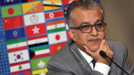 الشيخ سلمان بن إبراهيم آل خليفة رئيس الاتحاد الآسيوي لكرة القدم