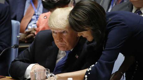دونالد ترامب يترأس اجتماع مجلس الأمن الدولي