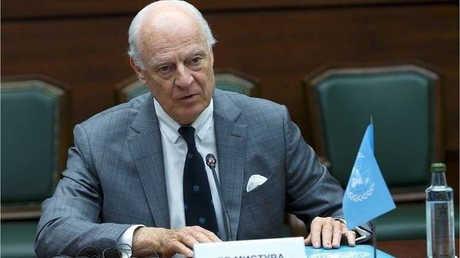 المبعوث الخاص للأمين العام للأمم المتحدة إلى شأن التسوية في سوريا، ستيفان دي ميستورا