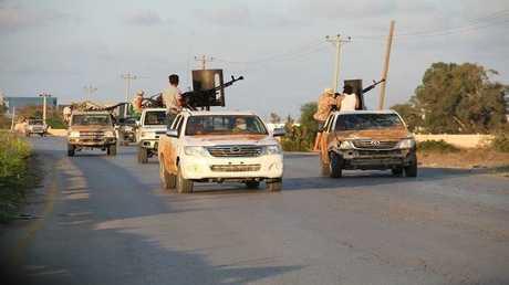 صورة أرشيفية من معارك طرابلس