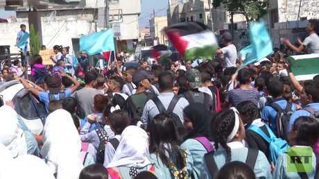 مسيرات شعبية في مخيمات الضفة