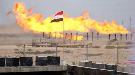 أحدى مصافي النفط في العراق - أرشيف