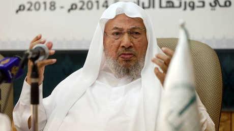 الداعية الإسلامي المشهور، يوسف القرضاوي