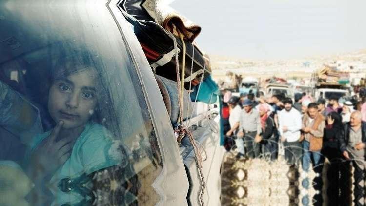 وصول دفعة جديدة من المهجرين السوريين العائدين من لبنان