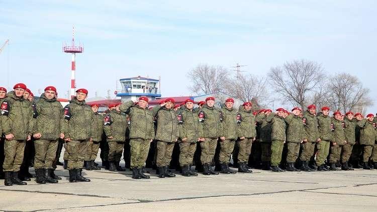 الشرطة العسكرية الروسية - ارشيف