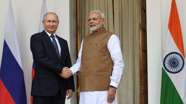 روسيا والهند توقعان عقدا لتوريد 5 كتائب من منظومات