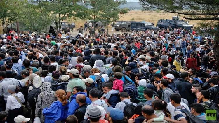 مخيم موريا اليوناني للاجئين السوريين في حالة طوارئ