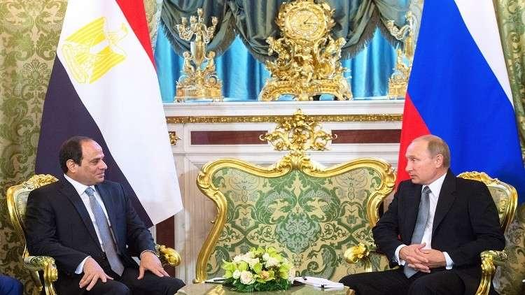 بوغدانوف: بوتين والسيسي سيبحثان التعاون العسكري واستئناف الرحلات الجوية