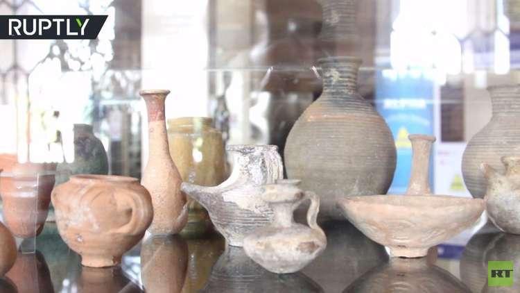 دمشق.. أول معرض يضم مئات القطع الأثرية بعد استردادها