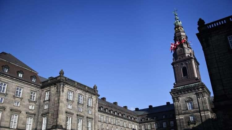 مبنى البرلمان الدنماركي في كوبنهاغن، الدنمارك، أرشيف