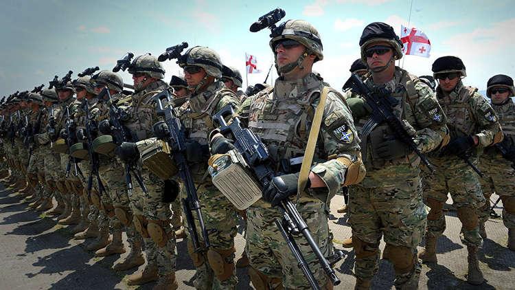جورجيا والناتو يجريان تدريبات مشتركة غير مسبوقة في 2019