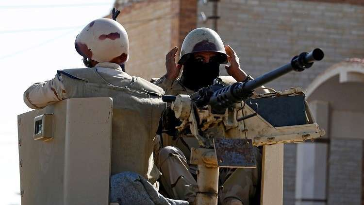 مقتل 10 مسلحين بتبادل إطلاق نار مع الأمن المصري في العريش
