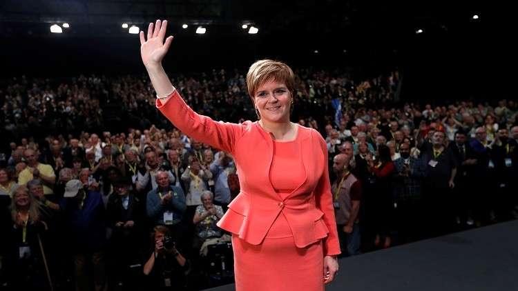 رئيسة وزراء إسكتلندا نيكولا ستورجيون
