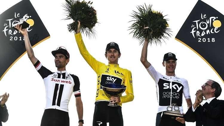 سرقة جائزة سباق فرنسا للدراجات!
