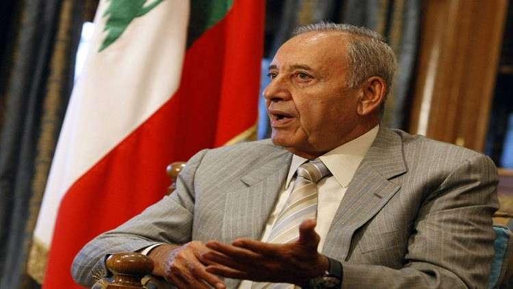 بري: اقتصاد لبنان