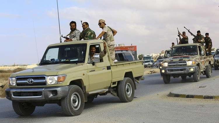 بالصور.. الجيش الليبي يعتقل