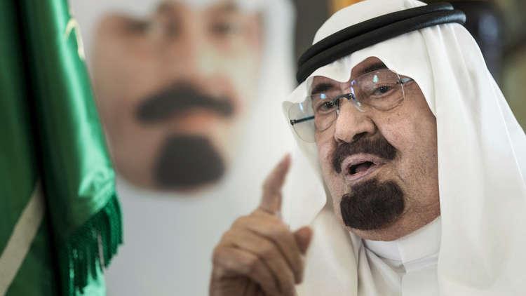 العاهل السعودي الراحل، الملك عبد الله بن عبد العزيز (صورة من العام 2014)