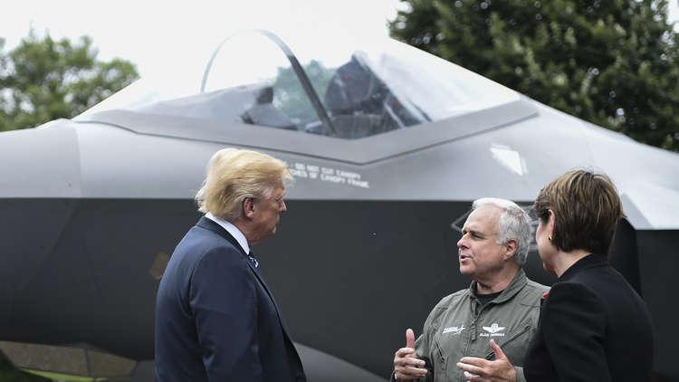 البنتاغون يوقف طلعات الشبح F-35