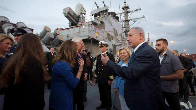نتنياهو يحتفي بأول زيارة للبحرية الأمريكية لأسدود منذ 20 عاما