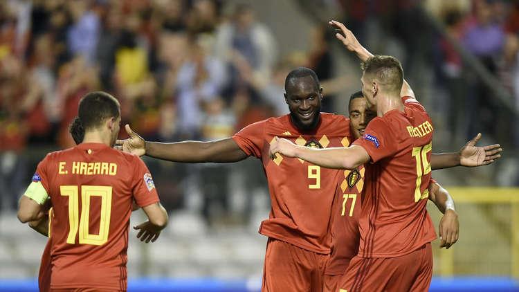 لوكاكو يقود بلجيكا للفوز على سويسرا في دوري الأمم الأوروبية