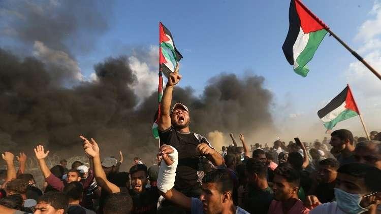 غزة تشيع قتلى