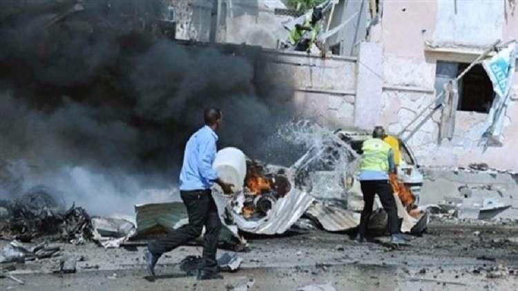 مقتل 7 أشخاص بتفجيرين انتحاريين في الصومال