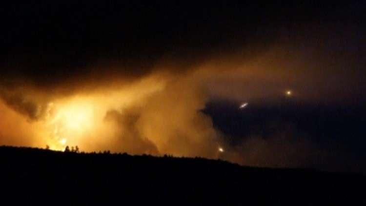 أوكرانيا.. 44 انفجارا خلال ساعة في مستودعات أسلحة!