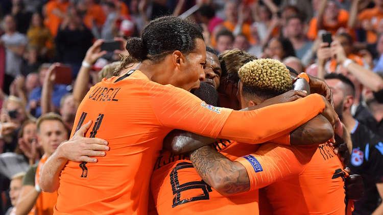 هولندا تقهر ألمانيا بثلاثية في دوري الأمم الأوروبية