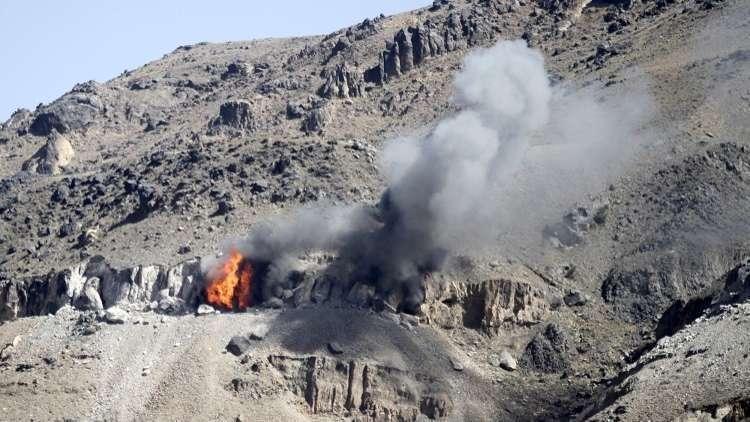 الحوثيون ينشرون مقطعا مصورا لإعطاب دبابة أبرامز سعودية