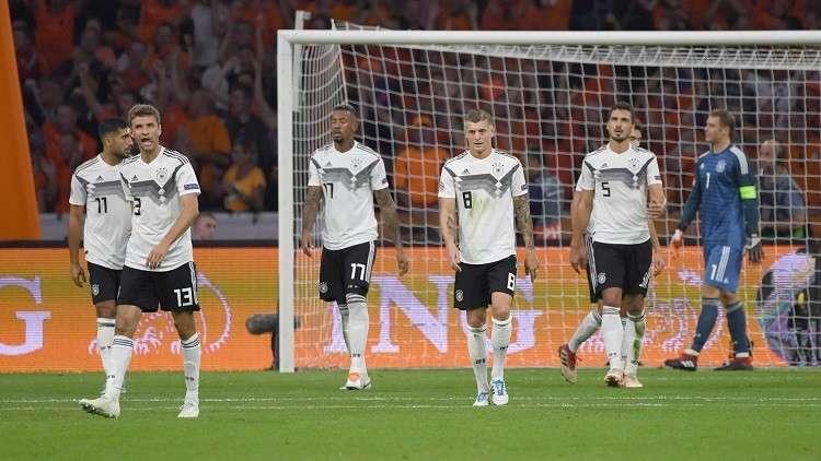ألمانيا تغرق في بحر الأرقام السلبية بعد هزيمة مذلة أمام هولندا