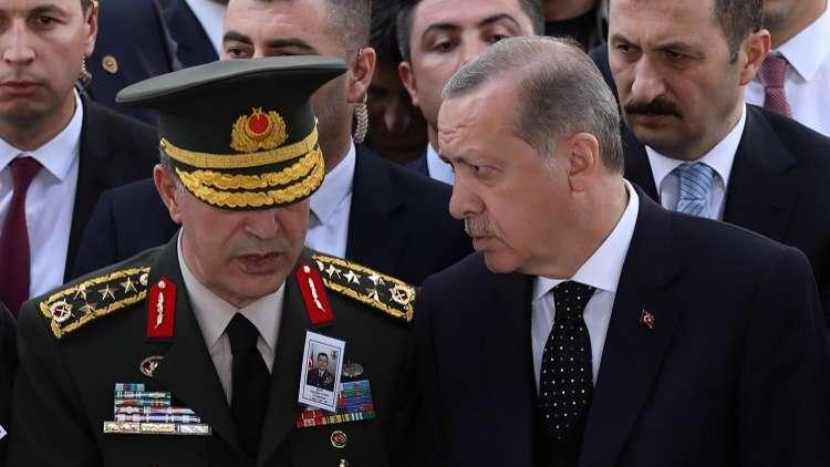 أردوغان يرد الجميل لجنرال كبير صان العهد إبان الانقلاب