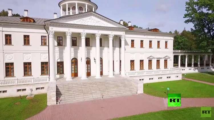 قصر أستافييفو ينبض بحكايات النبلاء الروس