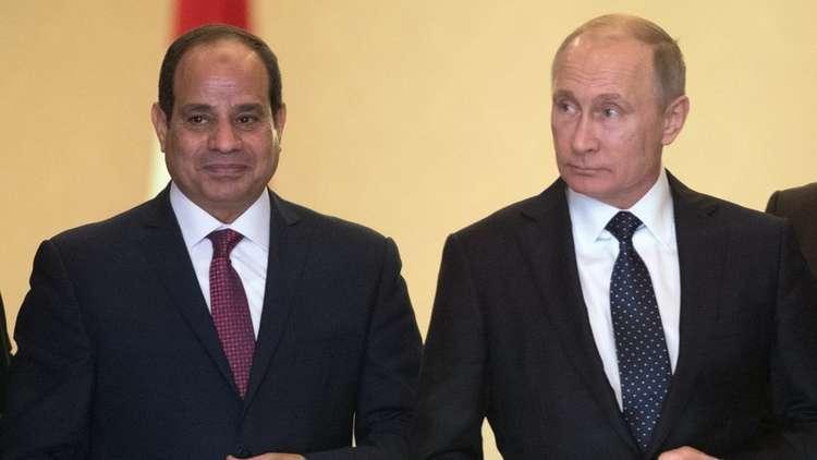 بوتين يوعز بتوقيع اتفاقية شراكة شاملة وتعاون استراتيجي مع مصر