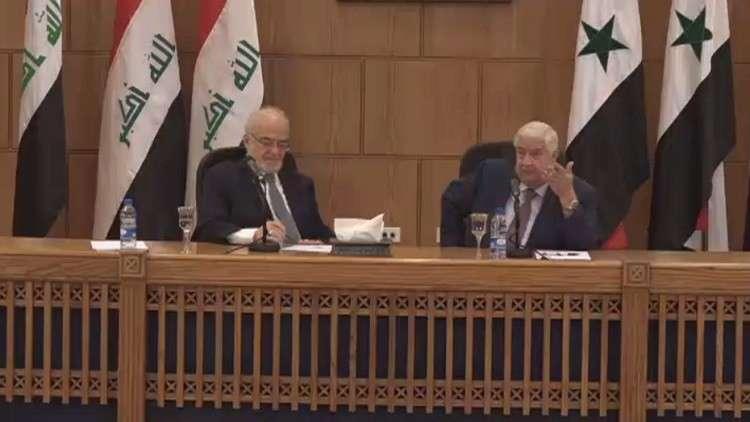 العراق يدرس إعادة فتح المعابر مع سوريا