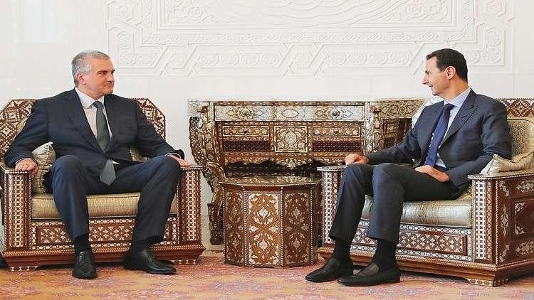 القرم توقعاتفاقيات تعاون مع محافظات سورية