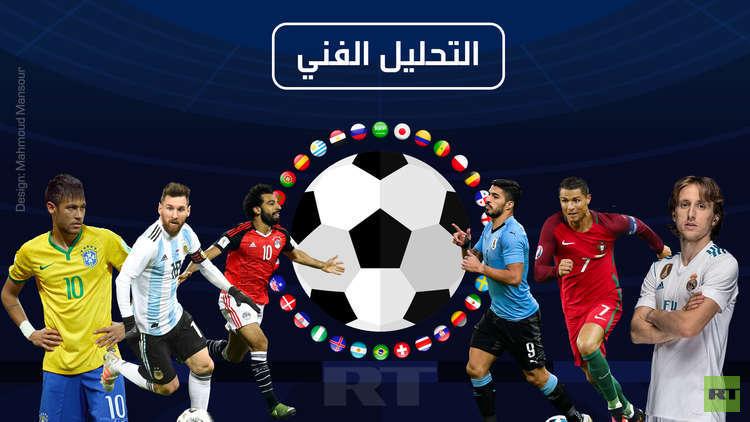مجموعة التحليل الفني في الفيفا تنشر تقريرا مفصلا عن كأس العالم 2018