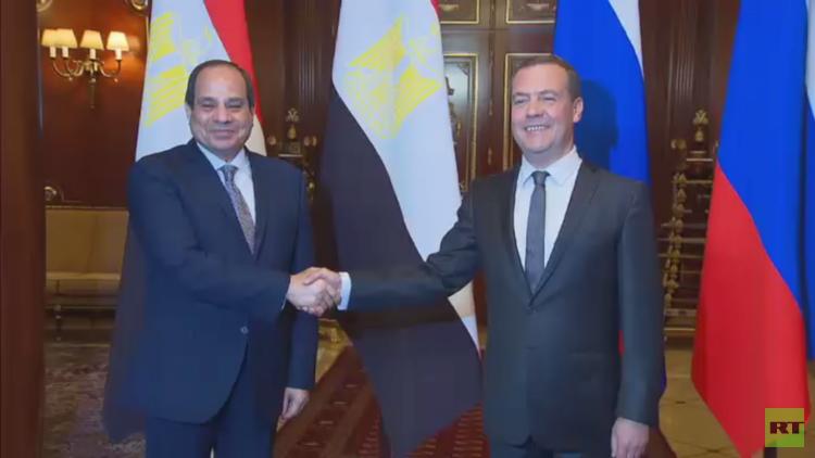 السيسي: روسيا شريك وصديق استراتيجي